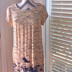 Lux Patterned Dress